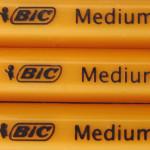 滑らかインクの BIC 油性ボールペン(ジェットストリームだけじゃない)