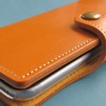 スマホを手にするのが楽しくなる「栃木レザー製の iPhone 6s 用ケース」