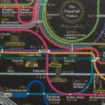 MoMA の鉄道路線図マウスパッド